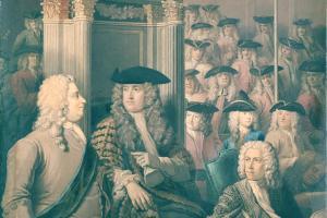 Speaker Onslow and Sir Robert Walpole, c. 1730